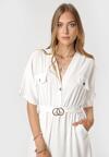 Biała Sukienka Kleomene