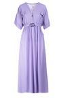 Fioletowa Sukienka Kleomene