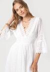 Biała Sukienka Neamemenis