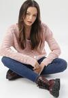 Różowy Kardigan Yserysha