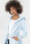 Jasnoniebieska Bluza Leuconisse