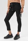 Czarne Spodnie Delomare