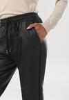 Czarne Spodnie Rhelieth