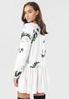 Biała Sukienka Irinvyn