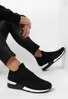 Czarne Sneakersy Sororia