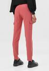 Ciemnoróżowe Spodnie Hempea