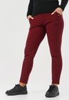 Bordowe Spodnie Xenrynne