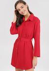 Czerwona Sukienka Risnell