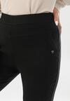 Czarne Spodnie Grynrya