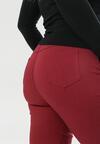 Bordowe Spodnie Grynrya