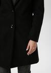 Czarny Płaszcz Zellnixi