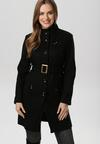Czarny Płaszcz Marymene