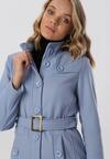 Jasnoniebieski Płaszcz Marymene