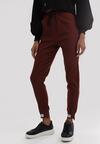 Bordowe Spodnie Hillbrew