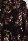 Czarna Sukienka Fourmane