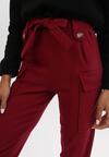 Ciemnobordowe Spodnie Uhrryss