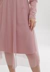 Ciemnoróżowa Sukienka Buckley