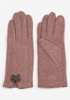 Ciemnoróżowe Rękawiczki Madehana
