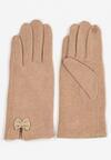 Beżowe Rękawiczki Madehana