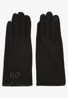 Czarne Rękawiczki Madehana