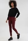Bordowe Spodnie Oliveloop