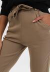 Beżowe Spodnie Ralozorwyn