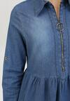 Niebieska Sukienka Crisheira