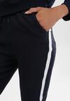 Granatowe Spodnie Varona