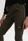 Ciemnozielone Spodnie Rumplecliff