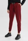 Bordowe Spodnie Starbelle
