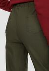 Ciemnozielone Spodnie Sweetpearl
