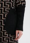 Beżowo-Czarny Płaszcz Murienora