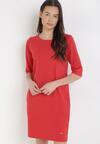 Czerwona Sukienka Amynise