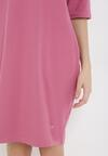 Różowa Sukienka Amynise