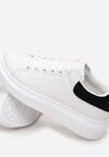 Biało-Czarne Sneakersy Leuconome