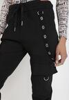 Czarne Spodnie Ephephite