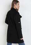 Czarny Płaszcz Palleleora