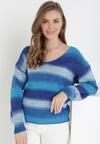 Niebieski Sweter Nixixa