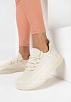 Beżowe Buty Sportowe Nipsey