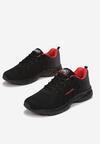 Czarno-Czerwone Buty Sportowe Driote