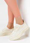 Beżowe Buty Sportowe Philaira