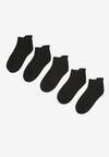 5-Pack Czarnych Skarpet hesiphi