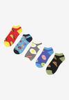 5-Pack Mix kolorów Skarpety Ophieis