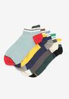 5-Pack Mix kolorów Skarpety Pethais
