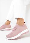 Różowe Buty Sportowe Klephisha