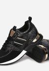 Czarne Sneakersy Qinysha