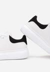 Biało-Czarne Sneakersy Grynnessa