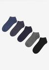 5-Pack Mix kolorów Skarpety Mhyrieth