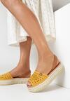 Żółte Sandały Genineva