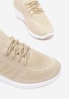 Beżowe Buty Sportowe Eshiryra
